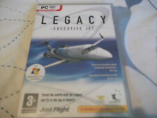 LEGACY EXECUTIVE JET PC-DVD NEW SEALED expansion for flight simulator 2004 & FSX