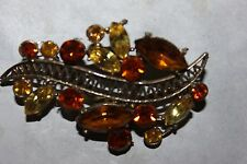 WEISS signed PIN WITH GORGEOUS FALL COLORS-NICE!!!!!!!!!!!