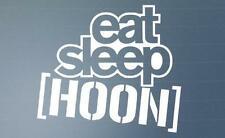 Eat Sleep HOONIGAN Funny Car Window Bumper JDM EURO VW DUB Vinyl Decal Sticker