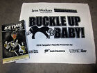 Pittsburgh Penguins 2014 Playoff RALLY TOWEL Round 2 Game 5 NY Rangers Program