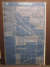 ANTIQUE CHICAGO BLUE ISLAND IL MAP ATLAS GRAND TRUNK RR CALUMET FEEDER CIVIL WAR