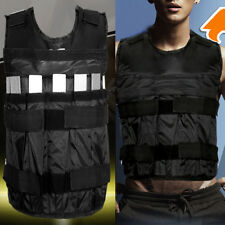 Adjustable 44lbs/20kg Weighted Vest Sports Jacket Strength Training Fitness New