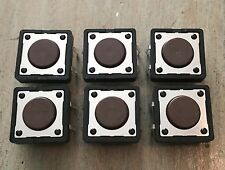 DIGITECH RP3 RP5 RP6 BP8 FOOT SWITCH BUTTONS - REPLACEMENT SWITCHES (6) RP-1 5 6