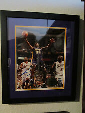 SHAQUILLE O'NEAL Signed/Framed 11x14 Finals MVP LE 48/143 Mounted 0344397