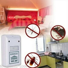 Ultrasonic Pest Control Repeller Spiders Electromagnetic Cockroach Fly EU