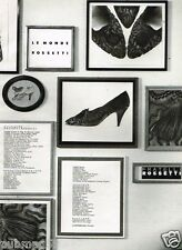 Publicité advertising 1989 Les Chaussures escarpins Fratelli Rossetti