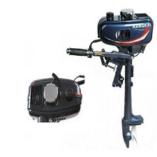 HOT 3.5HP OUTBOARD MOTOR BOAT ENGINE UPDATED WITH 2 STROKE WATER COOLED