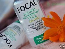 Focal 100% Pure Natural Deodorant Aftershave Stick, Alum Crystal Deo Stone 60g