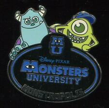 Cast Exclusive - Monsters Inc University Name Tag - LE 1000 Disney Pin 96764