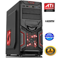 AMD FM1 QUAD CORE 8gb DESKTOP PC COMPUTER HDMI USB 3.0 - barebone dp667