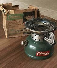 VINTAGE COLEMAN 502 SINGLE BURNER CAMP BACKPACK STOVE DATED 5/64