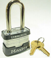 Lock From Master 3KALF Keyed Alike FREE $25 OR MORE FREE SHIPPING!! Long Shackle