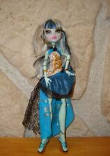 poupée monster high FRANKIE STEIN 13 wiches de 2013 TBE  13 souhaits
