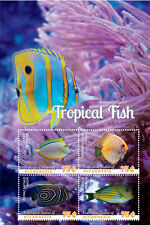 Micronesia - Tropical Fish, 2014 - S/H MNH