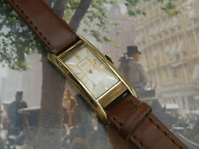 """1930`s ELGIN  EXTRA LONG MILITARY """" COIN EDGE """"   MEN`S WATCH ...MINT DIAL"""