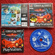 GHOST IN THE SHELL ORIGINAL BLACK LABEL PLAYSTATION PS1 PS2 PAL