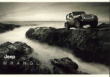 Jeep Wrangler 12 / 2012 catalogue brochure tcheque Czech rare