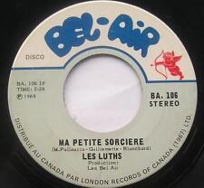 LES LUTHS (Lutins) Ma petite sorciere FRENCH GARAGE BEAT MOD 45 CDN '69 LISTEN!!