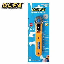 OLFA PRC-3 Rotary Perforation cutter with an 28mm blade bigger Genuine Japan NEW