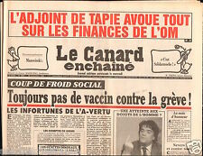 CANARD ENCHAINÉ Birthday Newspaper JOURNAL NAISSANCE 28 NOVEMBRE NOVEMBER 1990
