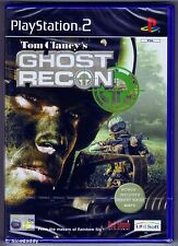 PS2 Ghost Recon, ( 2002 ) UK Pal, Brand New & Sony Factory Sealed