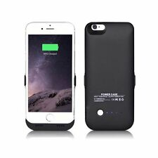 6000mAh Rechargable Power Case External Battery Charger Cover Pack for iPhone 6