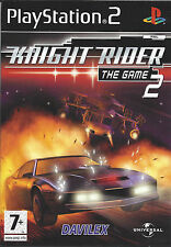 KNIGHT RIDER 2 THE GAME for Playstation 2 PS2 - with box & manual - PAL