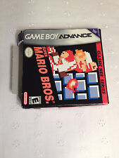GBA Gameboy Advance: Super Mario Bros. (Classic NES Series Edition)  New