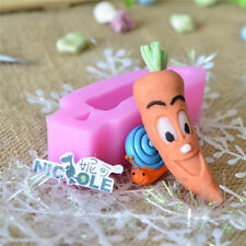 Nicole Rabbit Shaped Resin Clay Molds Kids DIY Mould Sugar Fondant Tool For Cake