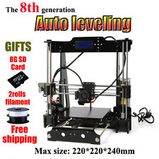 3D PRINTER - IMPRIMANTE 3D i3 Prusa AUTO LEVEL - 2 rolls filament - 8 Go SD CARD
