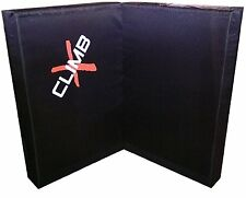 Climb X Double X Crash Pad - Black - Rock Climbing / Bouldering Crash Pad