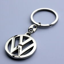KEY CHAIN VOLKSWAGEN CHROME GOLF JETTA TDI BEETLE GTI RABBIT CC PASSAT DIESEL
