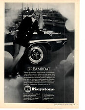 1970 DODGE CHALLENGER  ~  ORIGINAL KEYSTONE WHEEL MUSCLE CAR AD