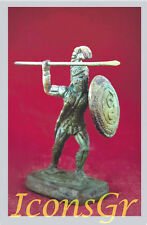 Ancient Greek Bronze Museum Statue of 300 Leonidas King Of Sparta Collectible