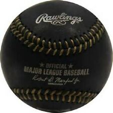 RAWLINGS OFFICIAL BLACK With Gold Stitching Major League Baseball  New in Box