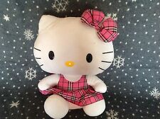 "LARGE TY HELLO KITTY SOFT PLUSH BEANIE TOY 15"" TALL EXCELLENT CONDITION"