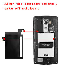 QI Wireless Charging Receiver with NFC IC Chip for LG G4 H815 H811 H810