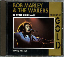 BOB MARLEY & THE WAILERS FEATURING PETER TOSH - CD ALBUM GOLD [1846]