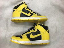 Nike Dunk High Goldenrod Size 11 3043093-071