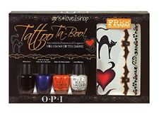 OPI Nail Polish ~* TATTO TA-BOO *~ Mini Nail Lacquers HTF Halloween.. long gone!