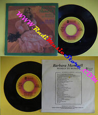 LP 45 7'' BARBARA MANDRELL Woman to woman Higher and higher 1978 no cd mc dvd