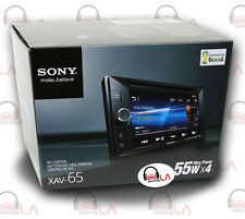 "SONY XAV-65 2-DIN 6.2"" TOUCHSCREEN DVD MULTIMEDIA RECEIVER"