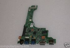 DELL Vostro V131 Daughterboard with Audio, 2x USB3, VGA & LAN Ports 48.4ND0