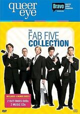 QUEER EYE FOR THE STRAIGHT GUY Fab Five Collection (DVD SET) NEW Free Shipping