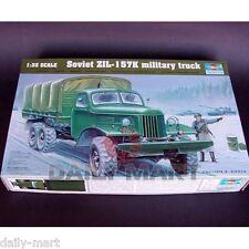 Trumpeter 1/35 01003 Soviet ZIL-157K military truck Model Kit