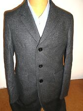 Burberry Wool & Cashmere Houndstooth Hoxton Overcoat  NWT US 42 R Euro 52 $2595
