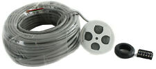 New Jandy Zodiac 7441 4 Button Spa Side Remote Switch with 100' Cord Aqualink RS