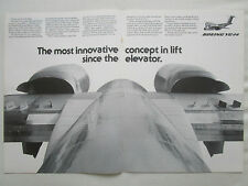 2/1977 PUB BOEING YC-14 ENGINE EXHAUST COANDA EFFECT STOL USAF ORIGINAL AD