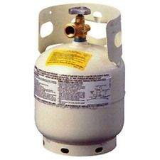 Manchester 10054.3 Propane Tank 5 lb Vertical Cylinder w/ QCC1 Valve & OPD