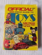Vintage 1983 Official Price Guide to Toys 8000 Prices The House of Collectables